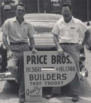 Sam and Steve Price